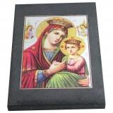 Лики святых на шунгитовых пластинах 10×15 см