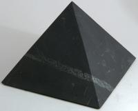 Пирамида неполированная. 12 см