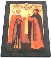 """Лик """"Святая Мария Магдалина и Преподобная Евдокия"""""""