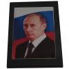 Портрет В.В.Путина на шунгитовой пластине 10×15 см